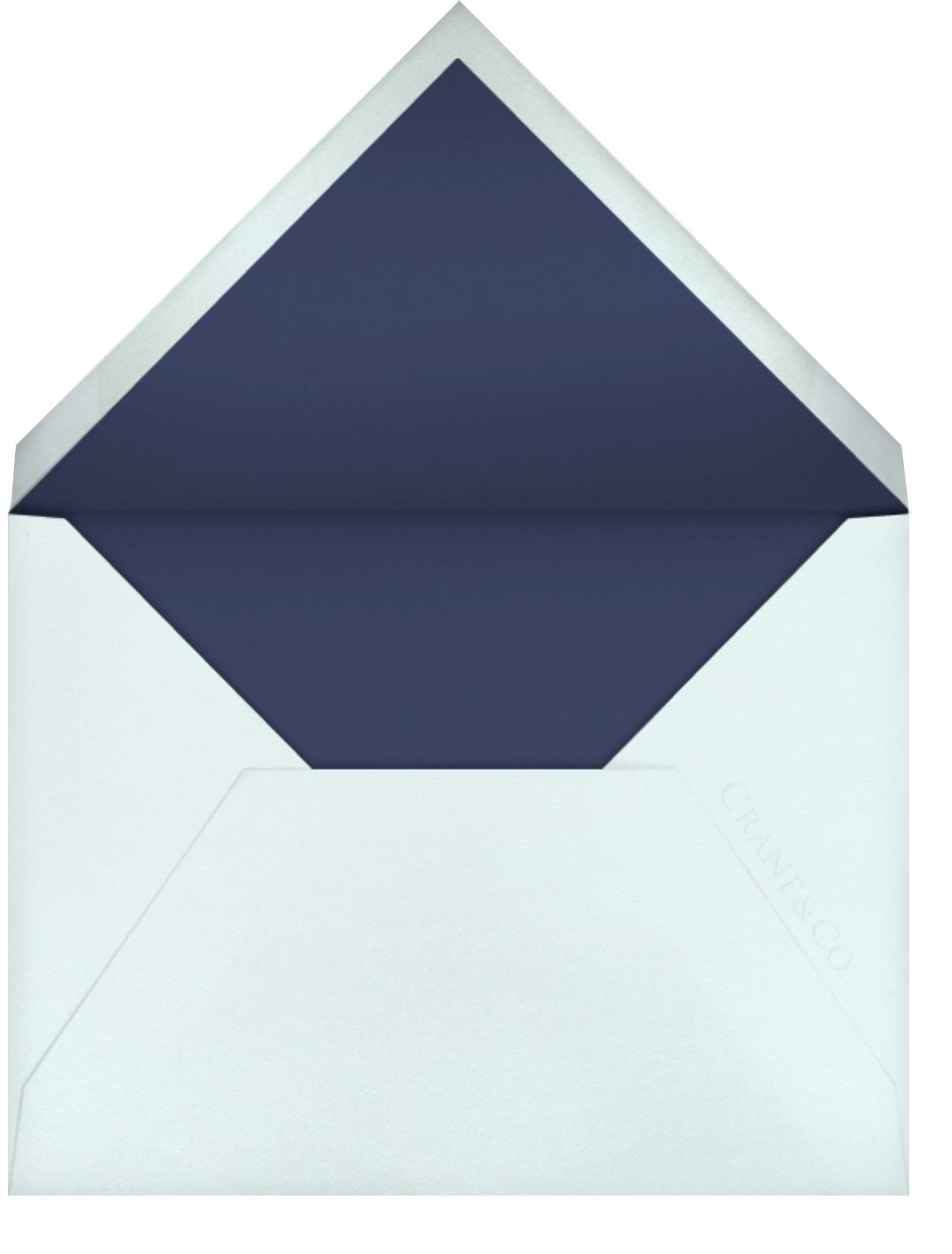 Le Lavandou - Navy Blue - Crane & Co. - All - envelope back