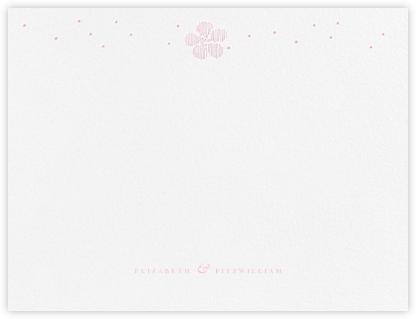 Blossoms on Tulle II (Thank You) - Peony - Oscar de la Renta -