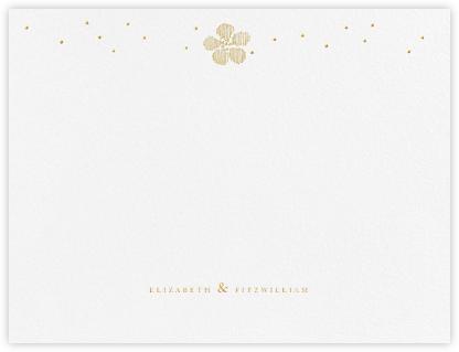 Blossoms on Tulle II (Thank You) - Medium Gold - Oscar de la Renta