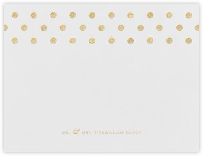 Polka Dot (Thank You) - Medium Gold | null