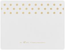 Polka Dot (Thank You) - Medium Gold