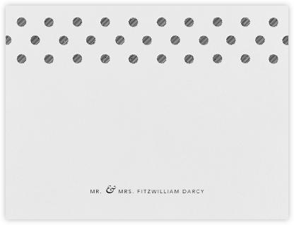 Polka Dot (Thank You) - Black | null