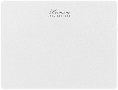Southampton - Pearl White - Paperless Post - Personalized Stationery