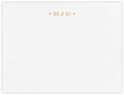 Tuxedo Park - Pearl White - Paperless Post - Personalized Stationery