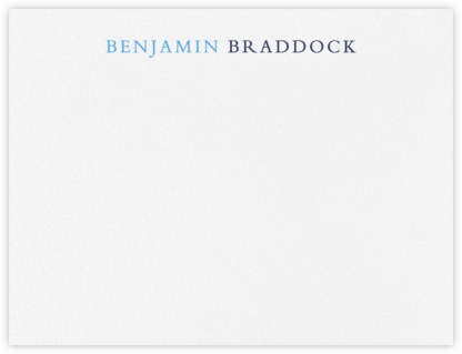 Pacific Palisades - Newport Blue - Paperless Post - Stationery
