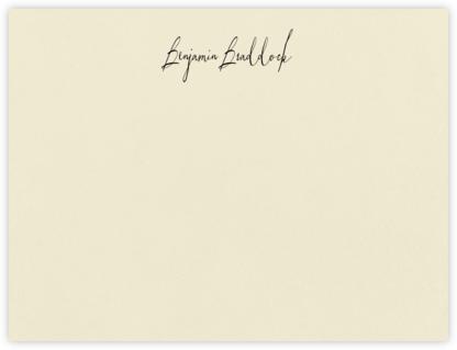 Palm Beach - Ecru - Paperless Post - Personalized Stationery