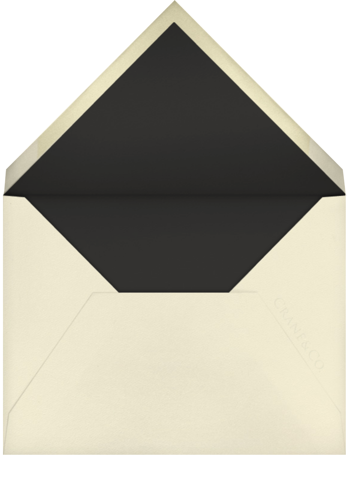 Southampton - Ecru - Paperless Post - Personalized stationery - envelope back