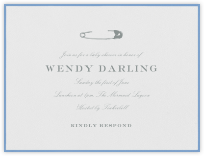 Edgerton Nursery - Newport Blue - Paperless Post - Celebration invitations