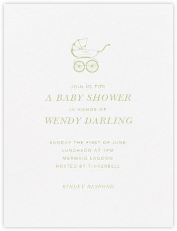 Primrose Hill Nursery - Celery - Paperless Post - Baby shower invitations