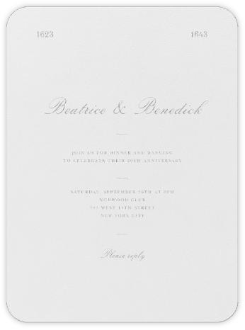 Darlington - Platinum - Paperless Post - Celebration invitations