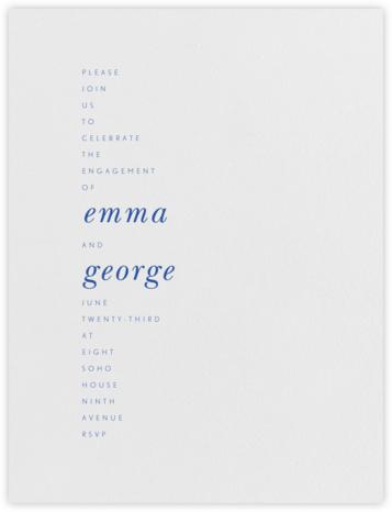 Ramsay - Regent Blue - Paperless Post -