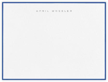 Place Vendome - Regent Blue - Paperless Post -