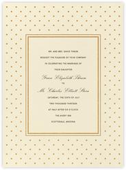 La Pavillion I (Invitation) - Gold