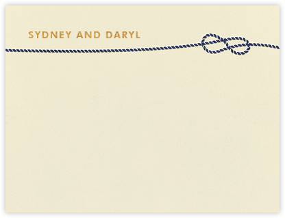 Nautical I (Stationery) - kate spade new york - Personalized Stationery