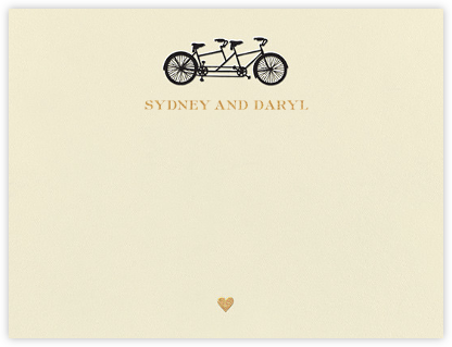 Tandem I (Stationery) - kate spade new york - Personalized Stationery