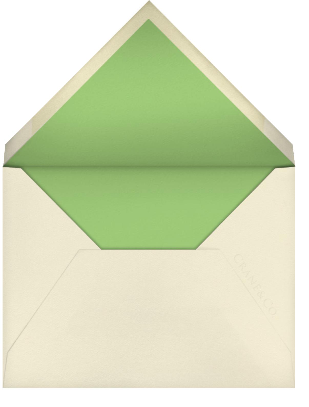 Typographic I (Thank You) - kate spade new york - General - envelope back