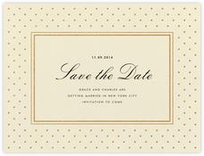 La Pavillion I (Save the Date) - Gold