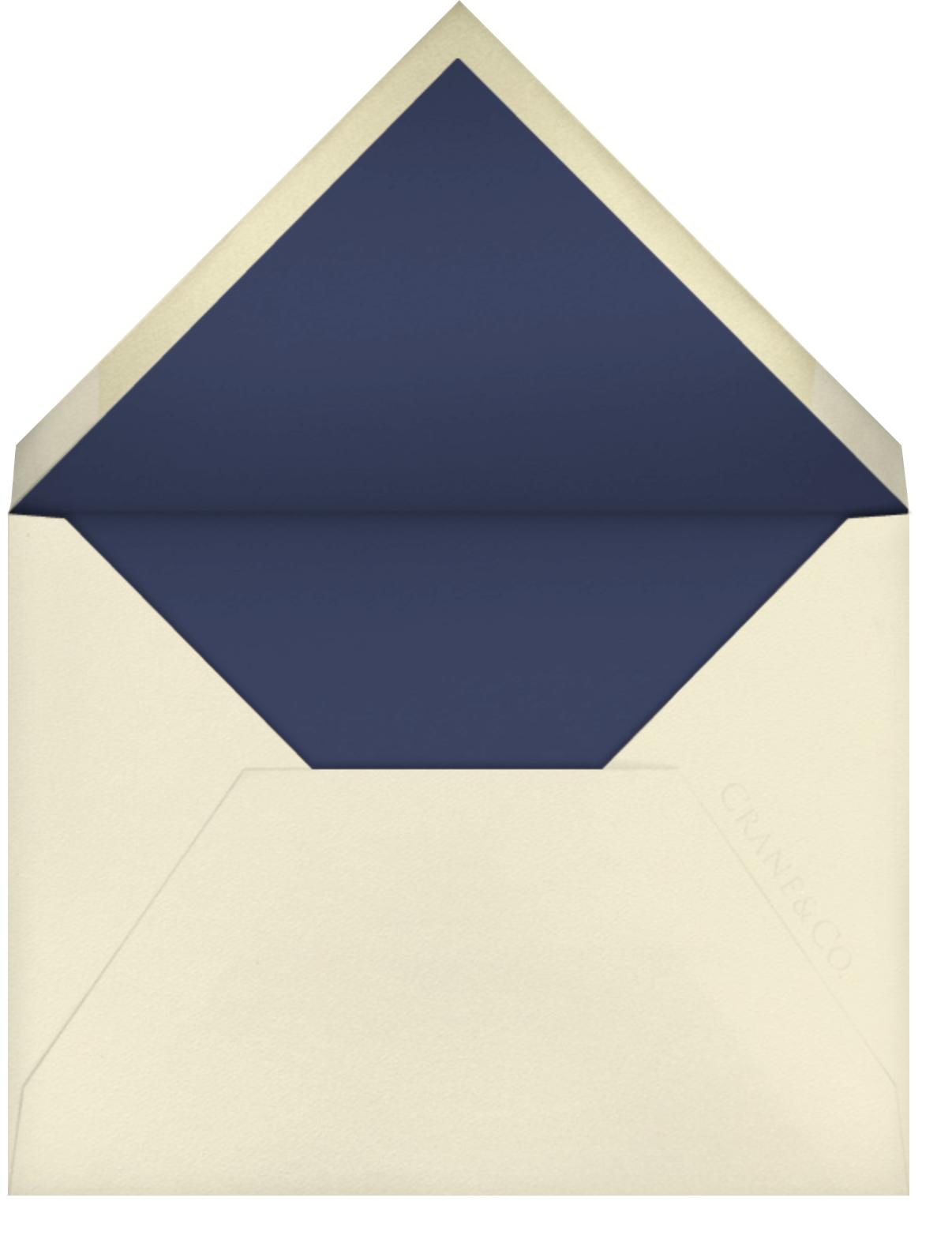 Nautical I (Save the Date) - kate spade new york - Destination - envelope back
