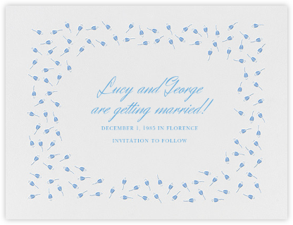 Emily I (Save The Date) - Newport Blue - Paperless Post -