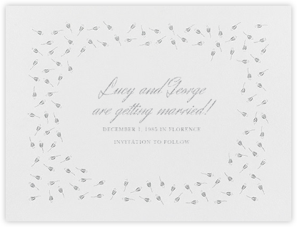 Emily I (Save The Date) - Platinum - Paperless Post -