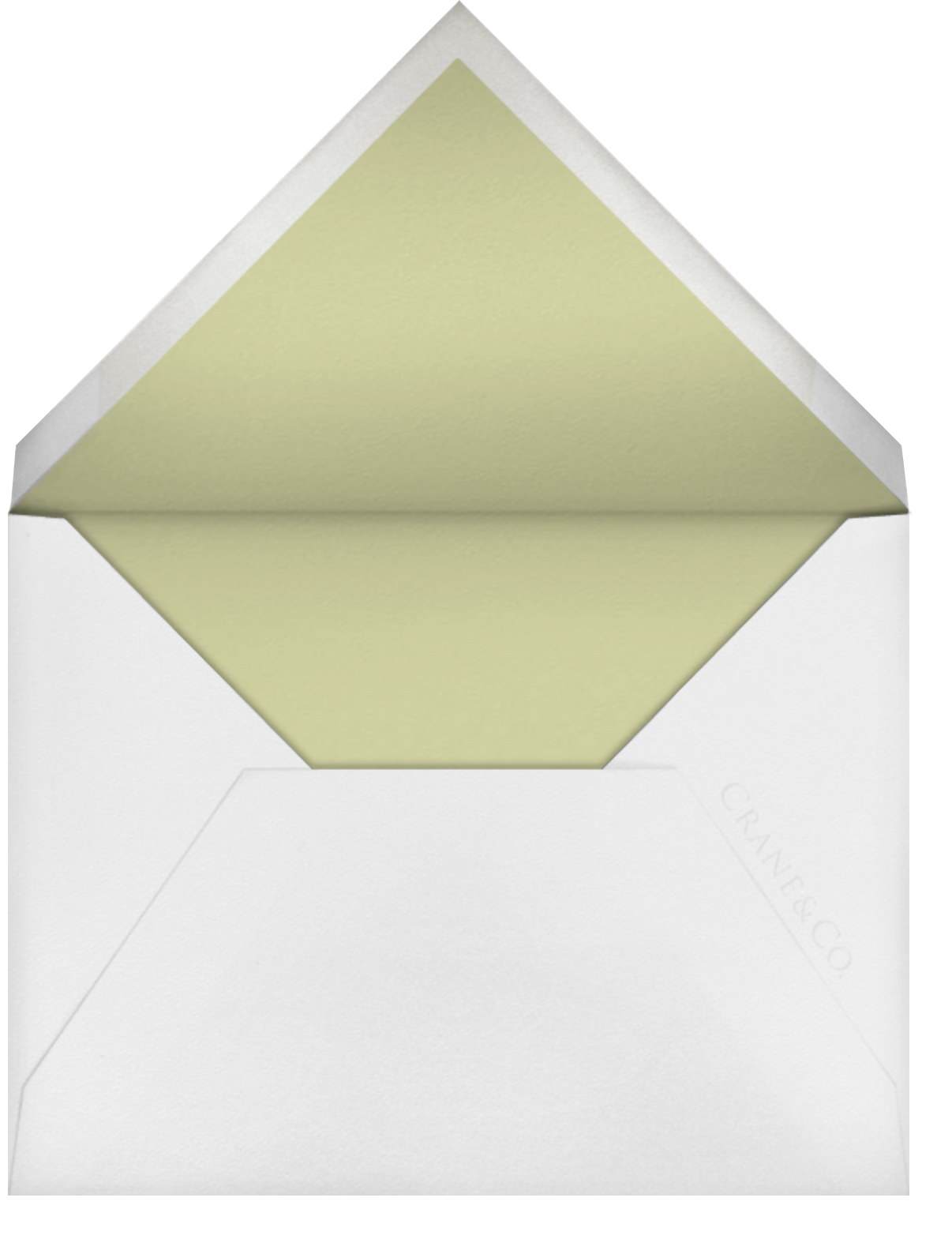 Gwendolyn I (Save The Date) - Celery - Paperless Post - Save the date - envelope back