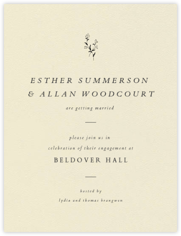 Folio II - Paperless Post - Engagement party invitations