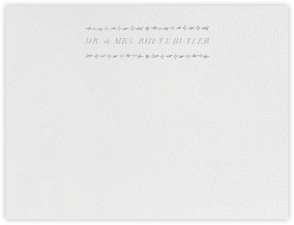 Kashmir I (Thank You) - Platinum - Paperless Post -