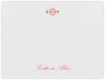 Kerala I (Thank You) - Geranium - Paperless Post - Personalized Stationery