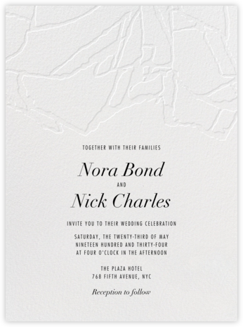Liaison - Kelly Wearstler - Modern wedding invitations