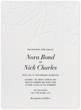 Liaison - Kelly Wearstler - Modern wedding invitations