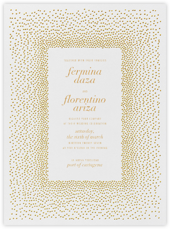 Jubilee I - Medium Gold - Kelly Wearstler - Modern wedding invitations