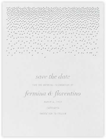 Jubilee I (Save the Date) - Platinum - Kelly Wearstler - Kelly Wearstler