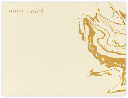 Gala (Thank You) - Medium Gold - Kelly Wearstler - Kelly Wearstler Stationery