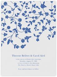 Floral Trellis I - Regent Blue