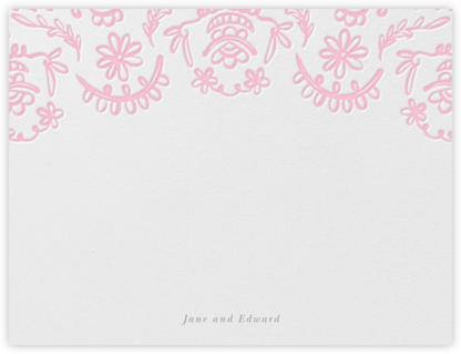 Brushed Lace (Thank You) - Peony Pink - Oscar de la Renta -