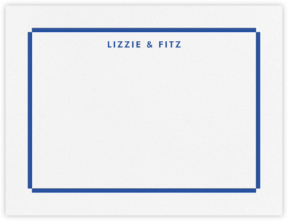 Lyman (Stationery) - Regent Blue - Paperless Post - Personalized Stationery