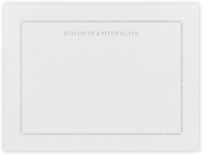 Diana (Thank You) - Platinum - Paperless Post - Personalized Stationery