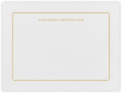 Diana (Thank You) - Medium Gold - Paperless Post - Personalized Stationery