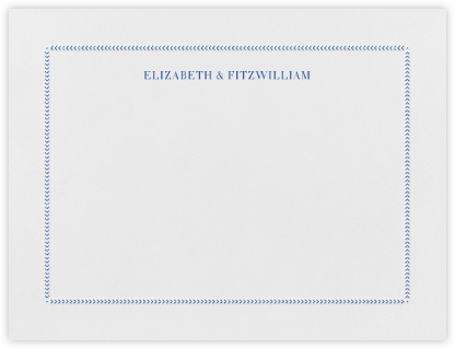 Diana (Thank You) - Regent Blue - Paperless Post - Stationery