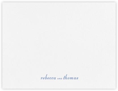 Gardener (Thank You) - Regent Blue - Paperless Post