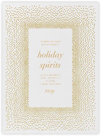 Jubilee I - Medium Gold - Kelly Wearstler - Christmas invitations