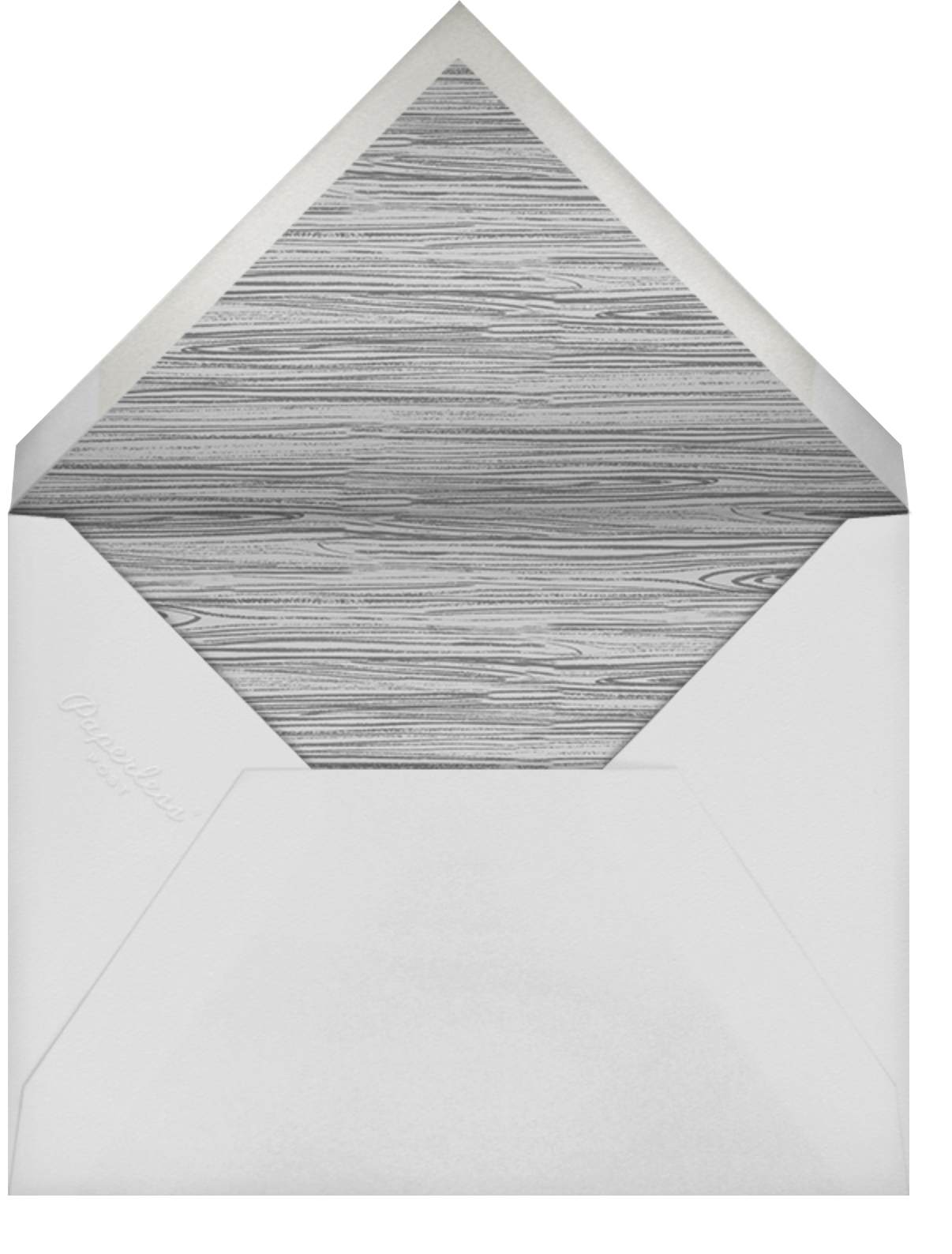 Granary - Taupe - Paperless Post - All - envelope back