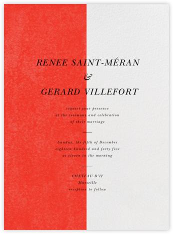 Folio - Geranium - Paperless Post - Online Wedding Invitations