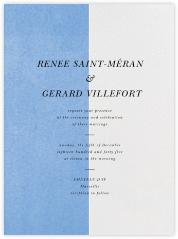Folio - Newport Blue - Paperless Post - Modern wedding invitations