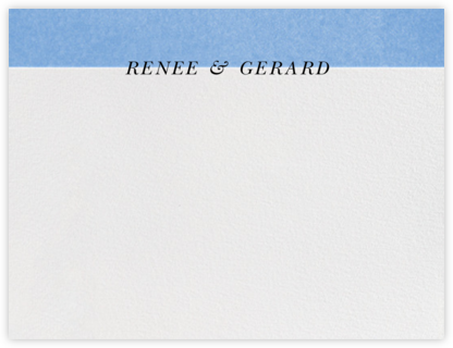 Folio (Stationery) - Newport Blue - Paperless Post -
