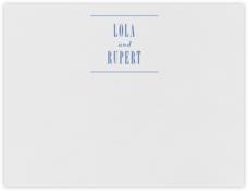 Assemblage I (Stationery) - Regent Blue