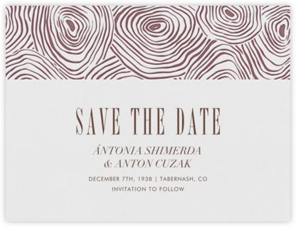 Burlwood I (Save the Date) - Kona  - Paperless Post