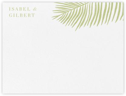 Palmier I (Stationery) - Celery | null