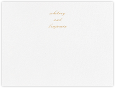Ligature (Stationery) - Gold