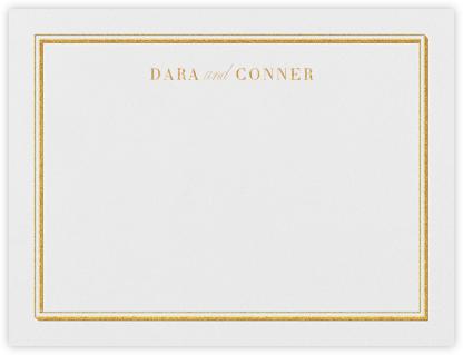 Parapet (Stationery) - Gold | null